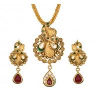 Gold pendant set with earrings gold pendant set designs for female gold pendant set designs for female aloadofball Images