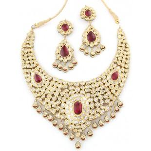 The Maha'rani' Kundan Jewellery Set