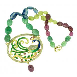 Bahar-e-Gulshan Pendant Set
