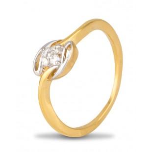 Suave Diamond Ring