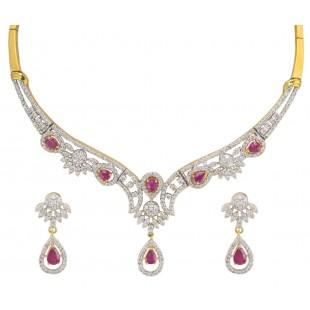 Bridal Beauty Diamond Necklace