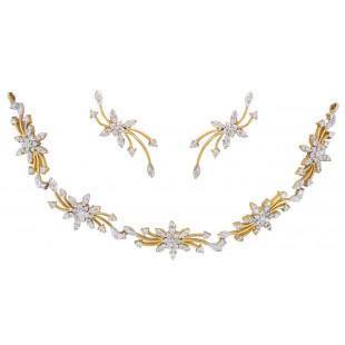 Bride's Posy Diamond Necklace
