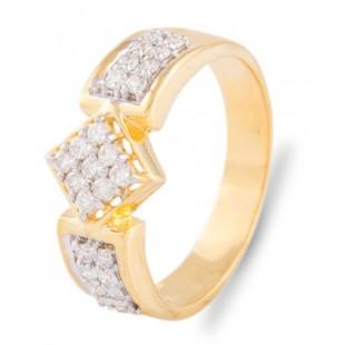 Rhombus Diamond Ring for Men
