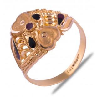 Manasvi Gold Ring
