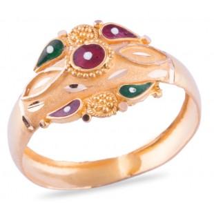Vagisha Gold Ring