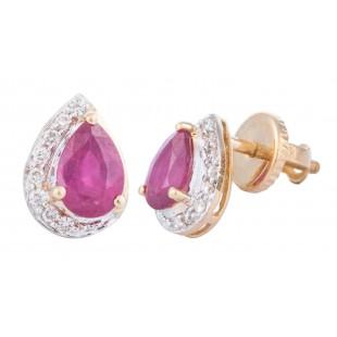 Rosy Smile Earrings