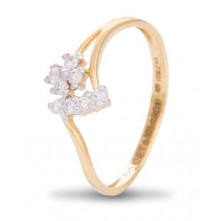 Finicky Diamond Ring