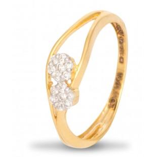 Flawless Femininity Diamond Ring