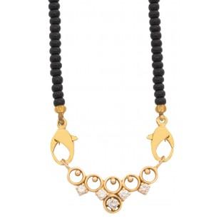 Olympic Rings Diamond Mangalsutra