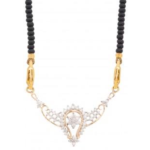 Picturesque Diamond Mangalsutra