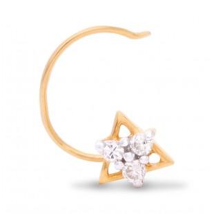 Splendid Diamond Nose Pin