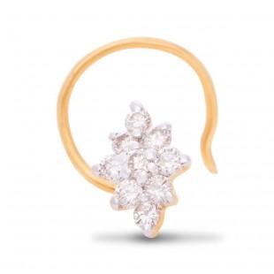 Truely Pleasant Diamond Nose Pin
