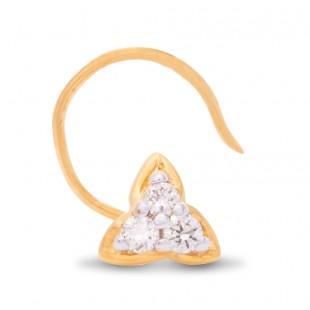Terrific Diamond Nose Pin