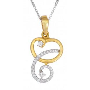 Aglow Diamond Pendant