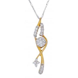 Angelic Diamond Pendant