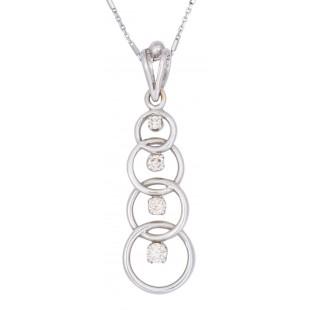 Circle Alliance Diamond Pendant