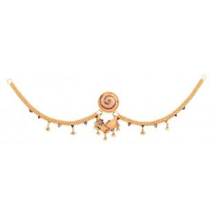 Decorous Gold Borla with Chain