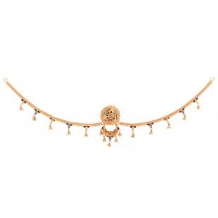 Voguish Gold Borla with Chain
