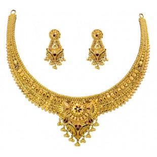 Sharara Gold Necklace