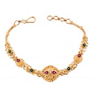Beauteous Gala Gold Bracelet