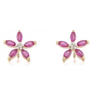 Pink Jasmine Earrings