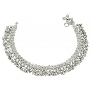 Womens Silver heavy Payal