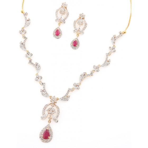 Hog Heaven Diamond Necklace