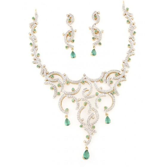 Belle Queen Diamond Necklace