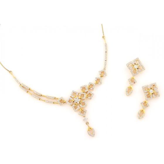 Salsa Love Diamond Necklace