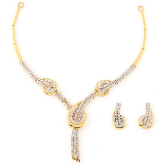 Modern Beauty Diamond Necklace