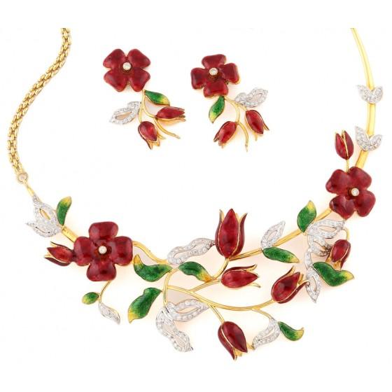 A Bride to Bloom Necklace