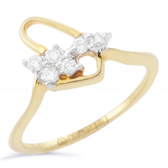 Golden Strand Ring