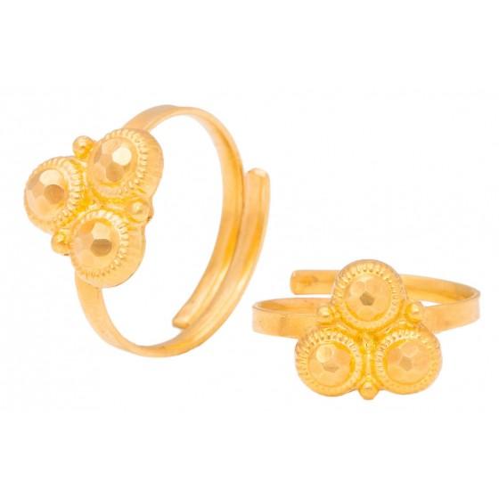 Aashirya Gold Foot Ring