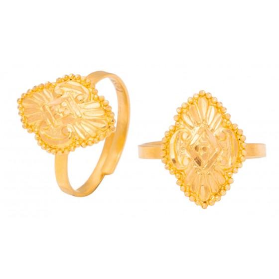 Riva Gold Foot Ring