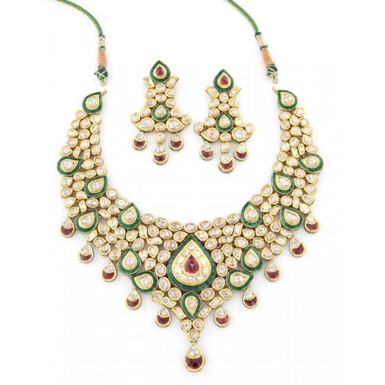 Mitakshara Kundan Jewellery Set