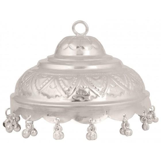 Silver Pooja Chhatra