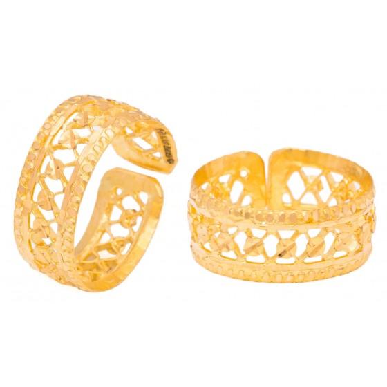 Invigorating Gold Foot Ring