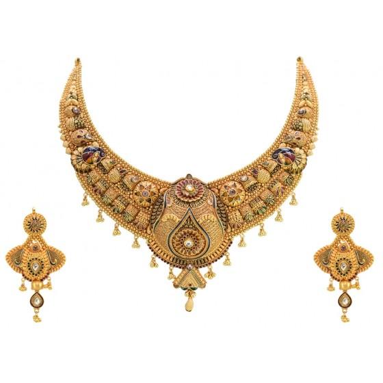 Swarn Pari Gold Set