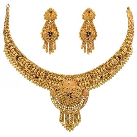 Swarn Kalash Gold Necklace