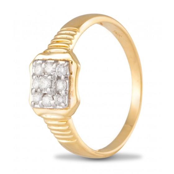 Chummy Diamond Ring for Men