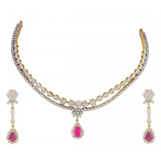 Bridegroom's Love Diamond Necklace