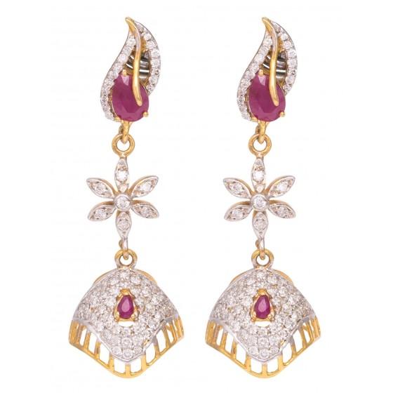 Virtue Of Purity Diamond Earring