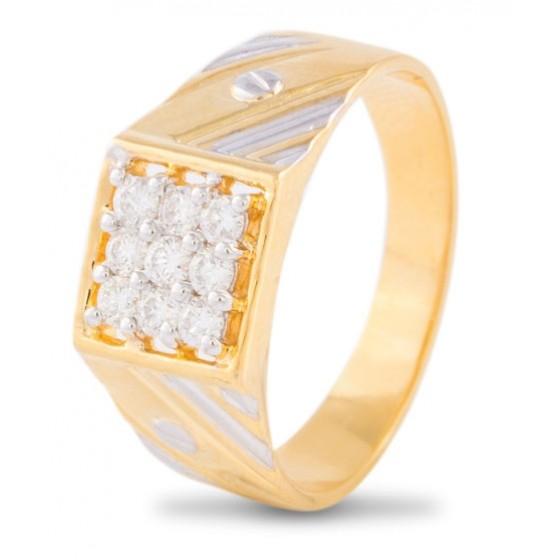 Nonet Diamond Ring for Men