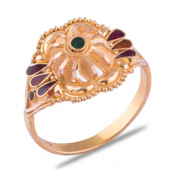 Druti Gold Ring