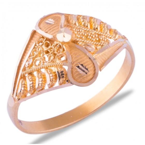 Amrit Gold Ring