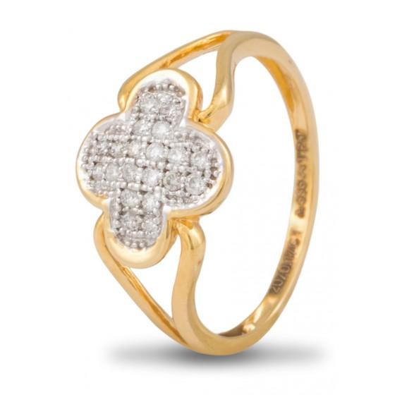 Peachy Beaut Diamond Ring