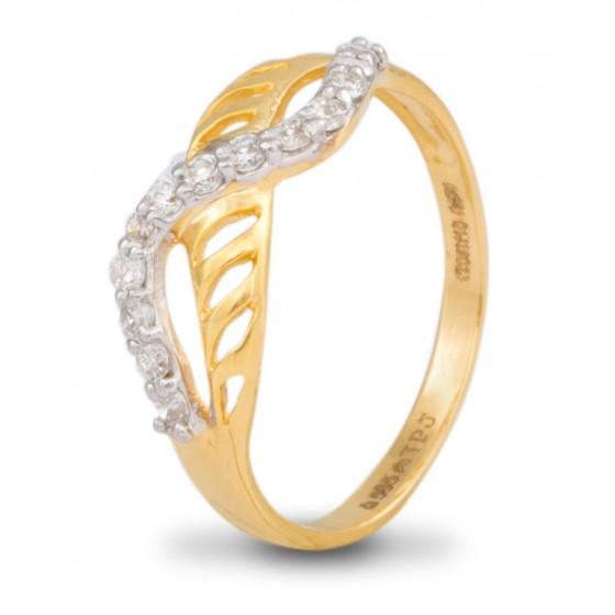 Intriguing Breeze Diamond Ring