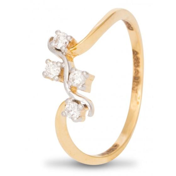 Sleekly Diamond Ring