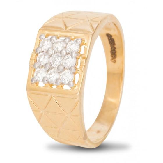 Trendsetting Diamond Ring for Men