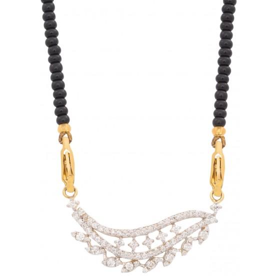 Durable Diamond Mangalsutra